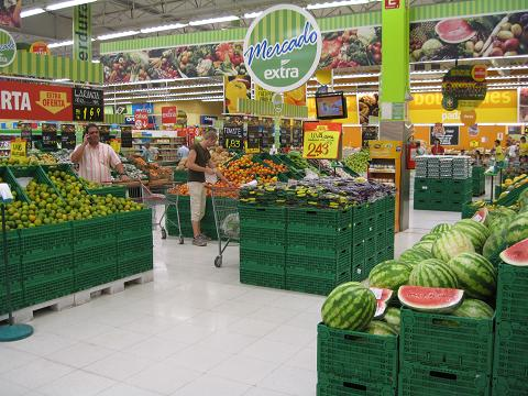 fruktavdelningen